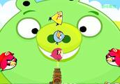 愤怒的小鸟,击败所有的捣蛋猪boss!