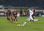 意甲联赛期间的意甲罗纳尔多,都灵0比1输给尤文图斯