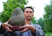 一块奇石被叫600万天价,上面的图案是真的吗,谁买?