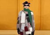 巴黎时装周上亮瞎眼不是模特,竟然是Loewe的学院风!