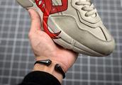 免费送 Gucci Apollo Leather Sneakers 嘴巴