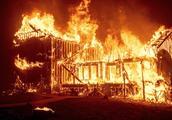 一场山火难倒整个美国!遍地灰烬宛如末日,特朗普:耻辱!