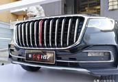 主打奢侈,多图详拍红旗旗舰SUV,这红旗HS7看来真的是老板车了