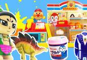 葫芦娃玩具故事 葫芦兄弟养恐龙宠物便利店变希卡利奥特曼变形蛋