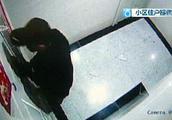 """枫丹白露频频有蟊贼持刀撬门? 业主问""""物管,你干什么去了!"""""""