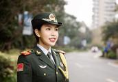 浙大退伍女兵的一句话太帅了:只要党和国家需要我,我愿意冲到最前面