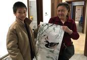 加油少年!重庆13岁男孩卖画救患癌姑姑