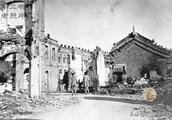 八国联军入侵北京城的老照片:残垣断壁述说着清末的耻辱