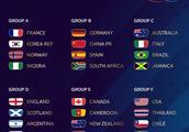 2019女足世界杯抽签:中国陷死亡之组,与老对手交锋3次丢10球