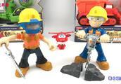 巴布工程师道路施工趣味玩具!超级飞侠给大家试玩!