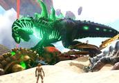 方舟生存进化新灭绝 02 变异三角龙被污染的身体都腐烂了