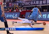 刘晓宇抢板倒地2根手指骨折 康复期至少2个月