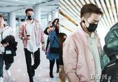 """""""富恒""""许凯微博控诉遭粉丝骚扰,穿粉色外套现身机场,变身暖男"""