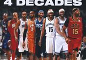卡特生涯抢断数将超越特里,NBA四个十年见证者
