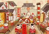舞龙舞狮社火美食……从初一到十五西安的庙会时间表给你整理好!