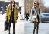 实穿和时尚度双重特点的派克大衣来袭,让你离时髦精更近一步