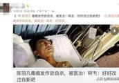 网曝陈羽凡毒瘾发作欲自杀,现场图流出?网友辟谣:细节揭露真相