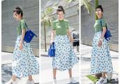 46岁的李冰冰真的是既减龄又优雅,女人45岁就是应该这么穿!