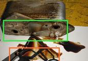 8万公里的宝马525发动机有故障,车主:发动机的机油缺少比较多!