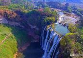 世界最大瀑布群—黄果树瀑布群,一个让你去了后不想离开的地方。