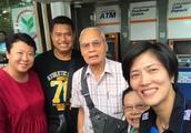 40岁冯坤怀孕7个月爆照!真的胖成了熊猫 和52岁泰国老公幸福合影
