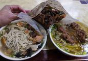 山东临沂的网友,给我寄了份炒鸡,挺好吃的!