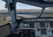 模拟飞行:没有管制的机场真是混乱不堪,飞机任意滑行与起飞