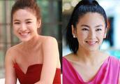 整容后32岁的张雨绮和37岁的宋慧乔,让人傻傻分不清楚