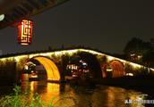 这里是京杭大运河的终点,这里的夜景比西湖还美