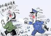 想跑?没门!青海一老赖被干警追了一公里后累瘫...