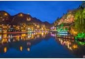 贵州镇远古镇的夜色,一个你没见过的美