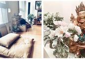 演员陈坤的家,家居饰品的摆放,让人看着清新雅致。