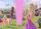 芭比之梦想豪宅:芭比的男朋友肯给芭比找到了闪粉喷井!
