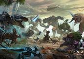 方舟生存进化DLC视频曝光,神秘飞鸟冰冻技能简直就是bug!