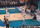 NBA全明星赛威少和哈登太铁了!约基奇和詹姆斯上演搞笑一幕