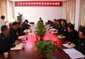 华阴交警携手兄弟单位共治安全隐患