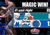 魔术主场大胜黄蜂38分迎来5连胜,终结对黄蜂13连败!