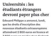 法国公立大学对非欧盟学生涨价 会影响你选择法国留学吗?