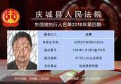 甘肃庆城法院曝光最新一批失信人名单!见到请举报!尤其是这六个人