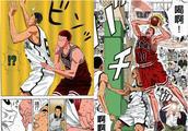 《灌篮高手》樱木花道反攻的三次进攻篮板两次靠的运气!连载下
