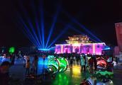 随拍崆峒古镇,流光溢彩、璀璨明珠的夜景!