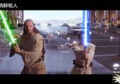 好莱坞经典科幻大片《星球大战》绝地武士光剑精彩打斗,太酷了!