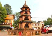 雅安上里古镇的百年古塔,彰显当地敬天惜字的古风