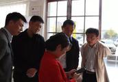 郑州市验收新密市食品安全示范街创建工作