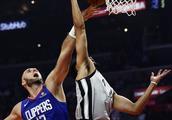 篮球——NBA常规赛:快船胜马刺