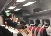 英男子因火车过道被挡辱骂中国夫妇:我要杀了你们