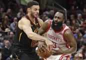篮球——NBA常规赛:骑士胜火箭