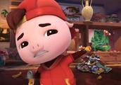 猪猪侠:猪猪侠打扫卫生,阿五发现猪猪侠把房间弄得更乱了!