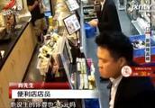南宁:扇巴掌又持刀伤人 男子大闹便利店