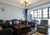 138平米三居室热门案例 美式半包10万!-七星富利天城装修